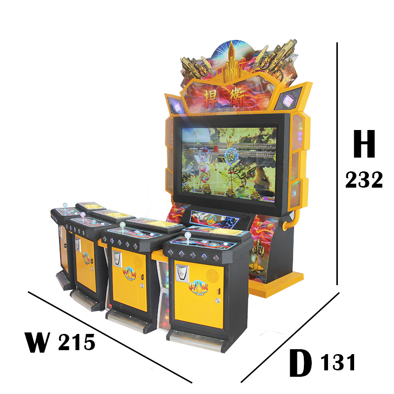 Amusement Game Machine Fighting Planes Video City Equipment