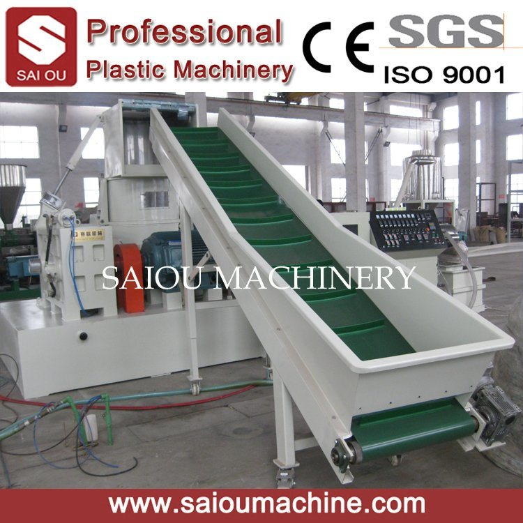 Recycling Plastic Extruder Pelletizing Granulator Machine