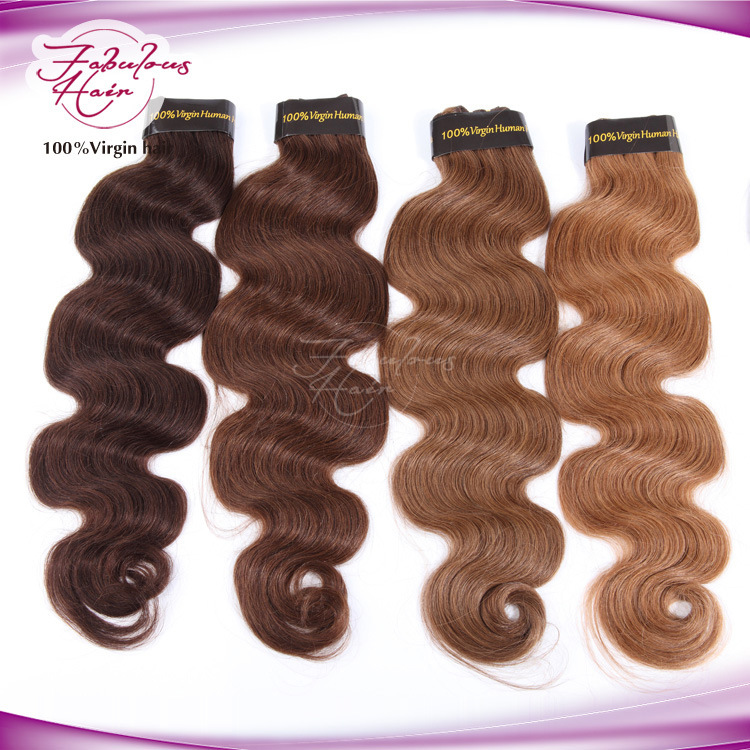 Unprocessed No Smell More Color Brazilian Virgin Human Hair