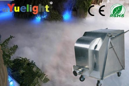 Gz Yuelight High Power 6000W Dry Ice Machine Stage Equipment for Wedding DJ Event