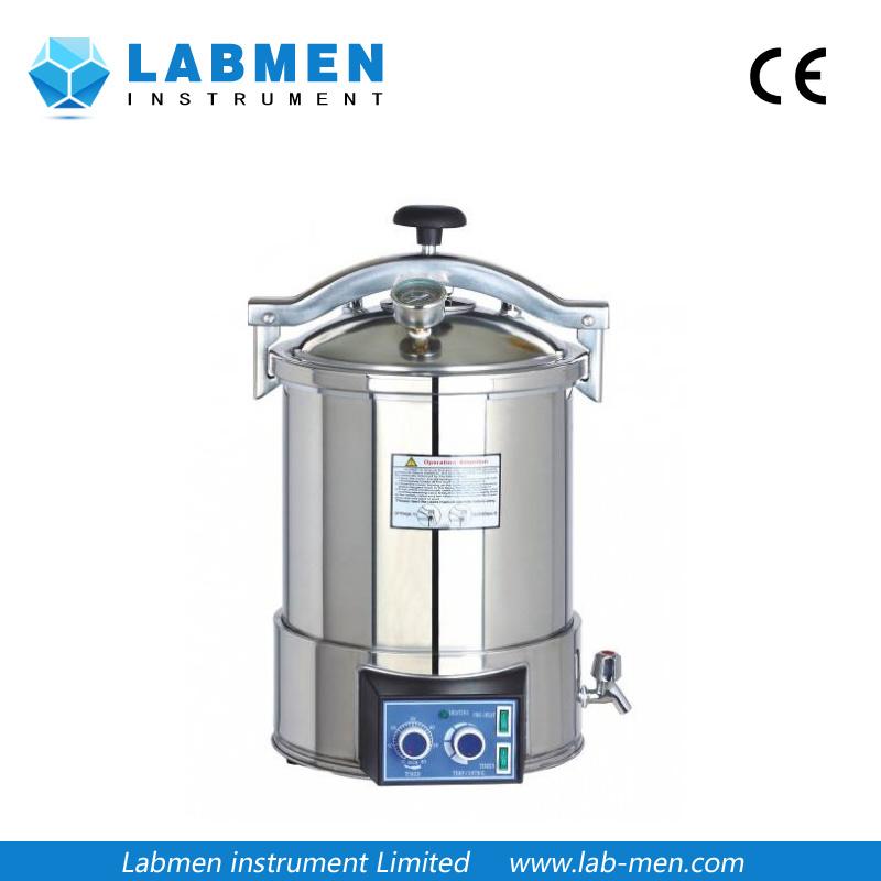 Portable Pressure Steam Sterilizer (Electric or LPG heated)