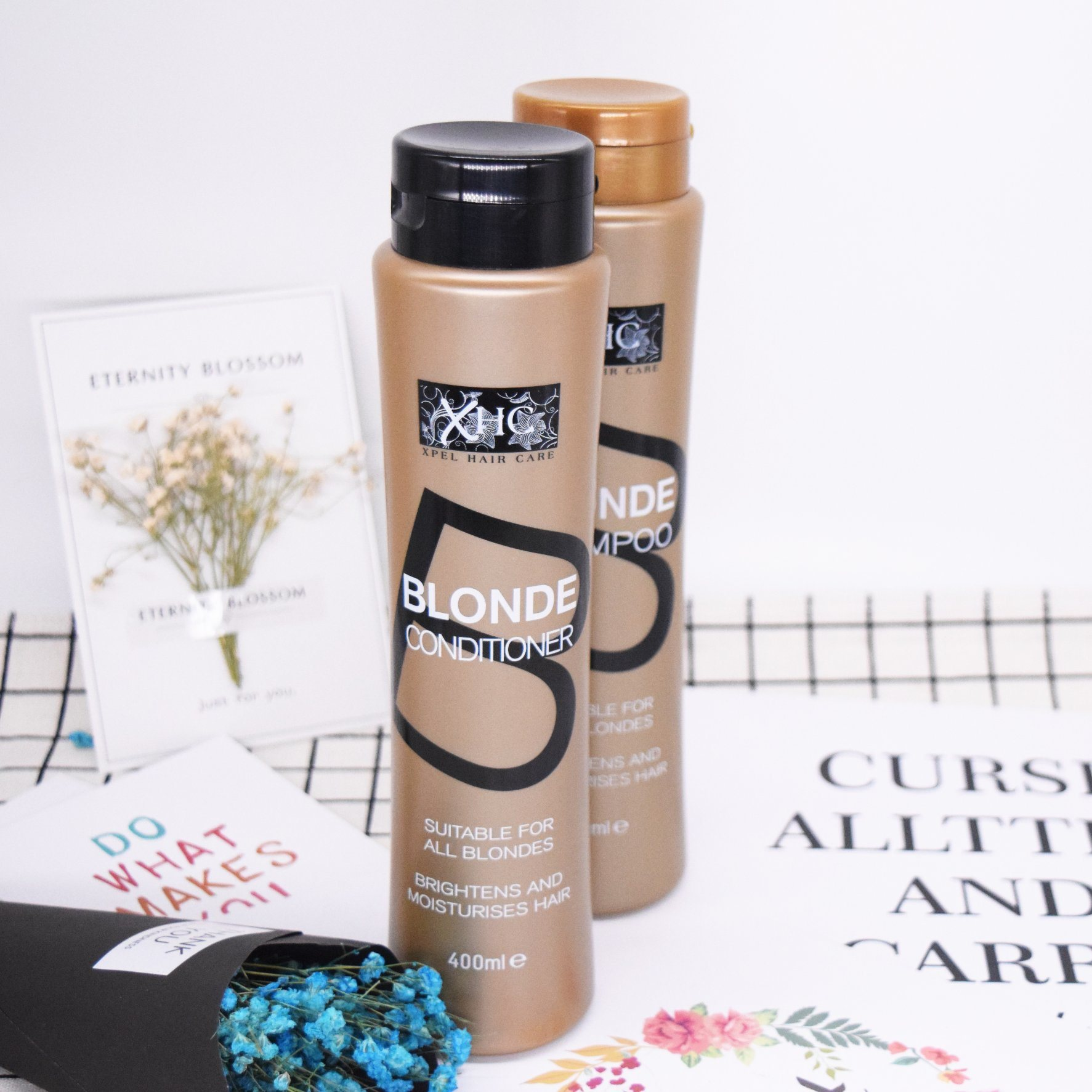 Professional Blonde Shampoo Moisturizing Rinse