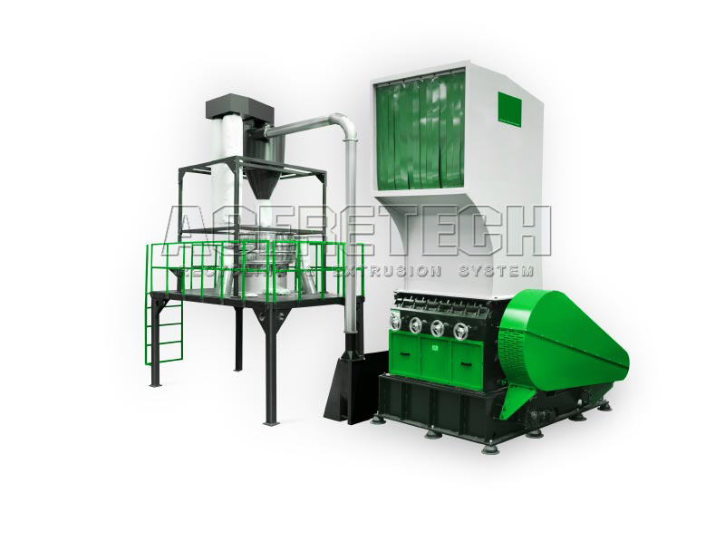 Crusher for Plastic Size Reduction