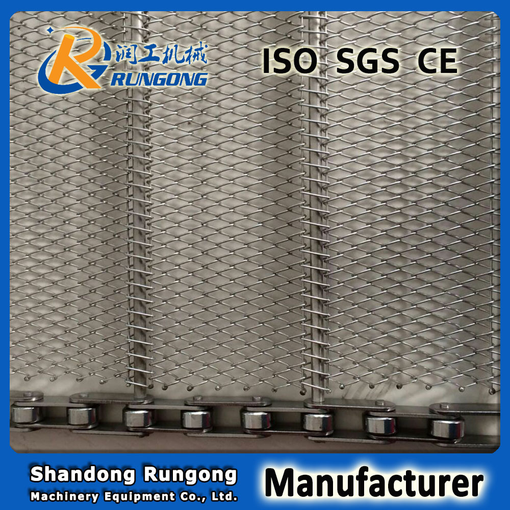 Conventional Weave Conveyor Belt for Baking Cookies/Heat Treatment Wire Mesh Belt