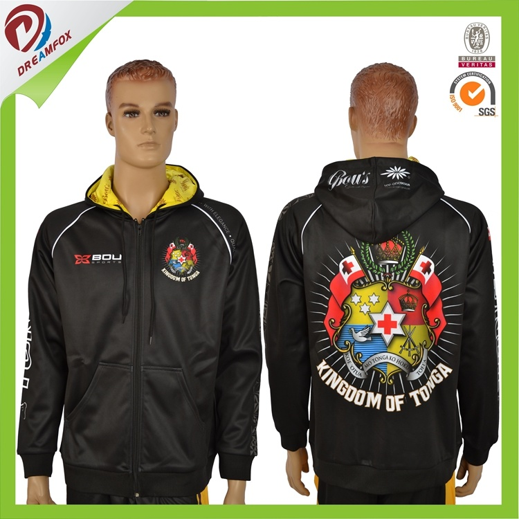 OEM Wholesale Cheap Custom Sublimation Fleece Inside Hoody