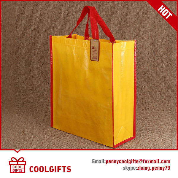 Wholesale Promotional Blank Non Woven Shopping Bag with Laminated Print