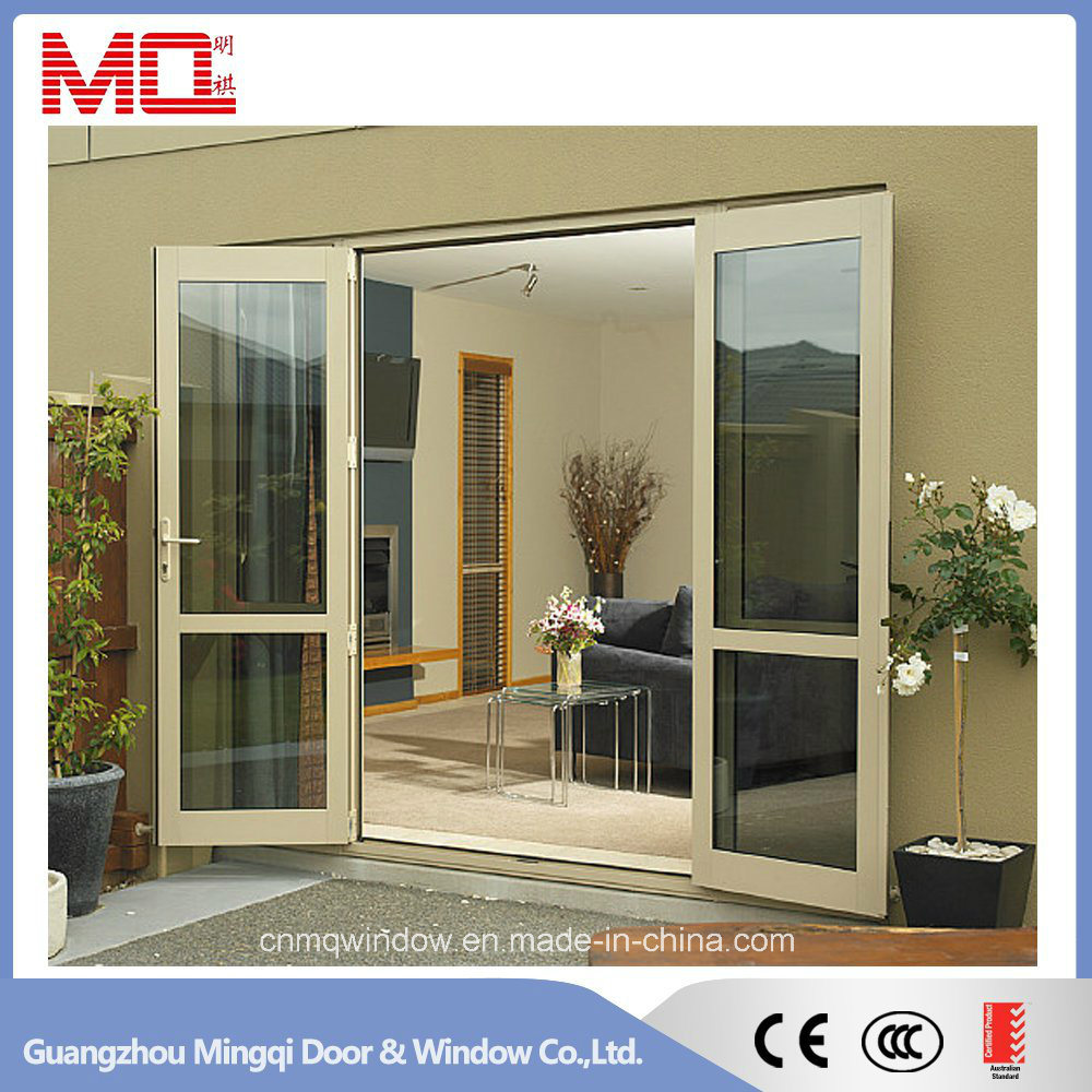 Double Glazing Exterior Aluminum Doors From China Factory