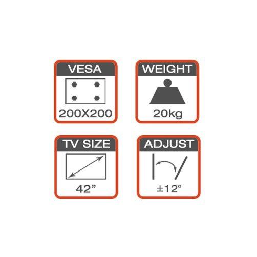 DVD/AV Componnt Mount Fit for 37′′