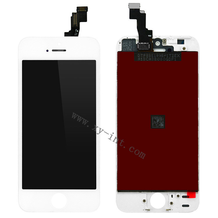 Mobile Phone LCD Digitizer Spare Parts for iPhone 5s LCD