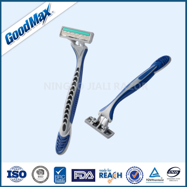 Goodmax High Quality 3 Blade Disposable Shaving Razor, Similar Model to Gillette (SL-3035TL)