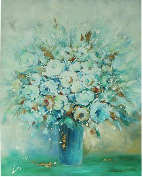 Flower Painting Wall Art Painting on Canvas for Home Decor (LH-P17042)