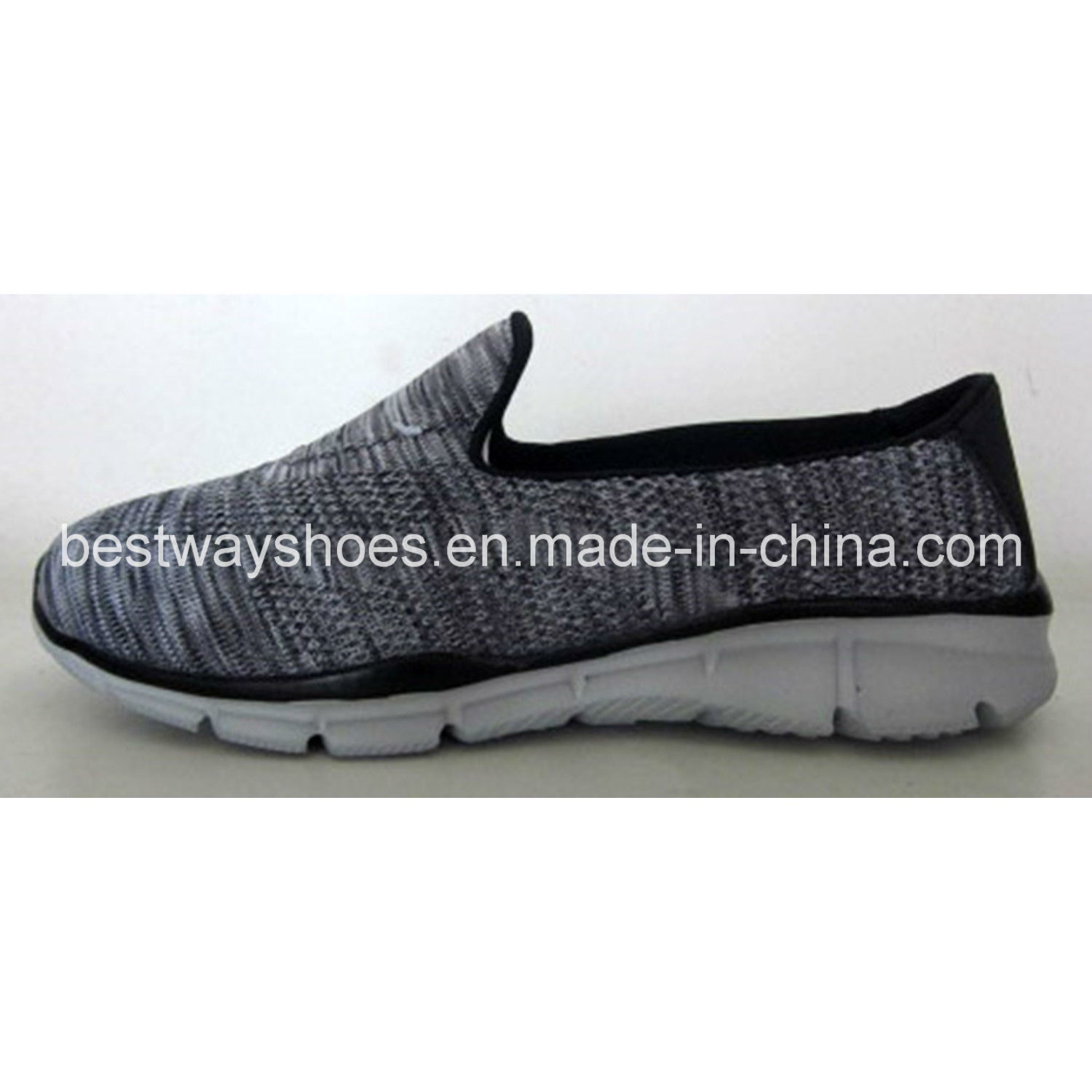 Woman Sports Footwear Flyknit Shoes Ladies Shoes Slip-on Shoes