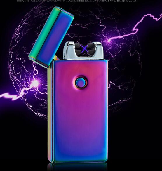 Rechargeable Double Pulse Plasma Tesla USB Arc Lighter