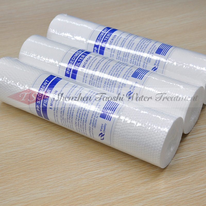 10 Inch Sediment Blown PP Filter Cartridge Manufacturers