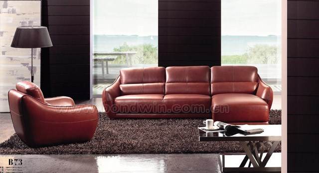 Modern Classic Cheap Leather Fabric Quality Furniture (B73)