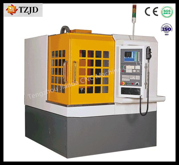 High Precision Table Moving Metal Mould CNC Router