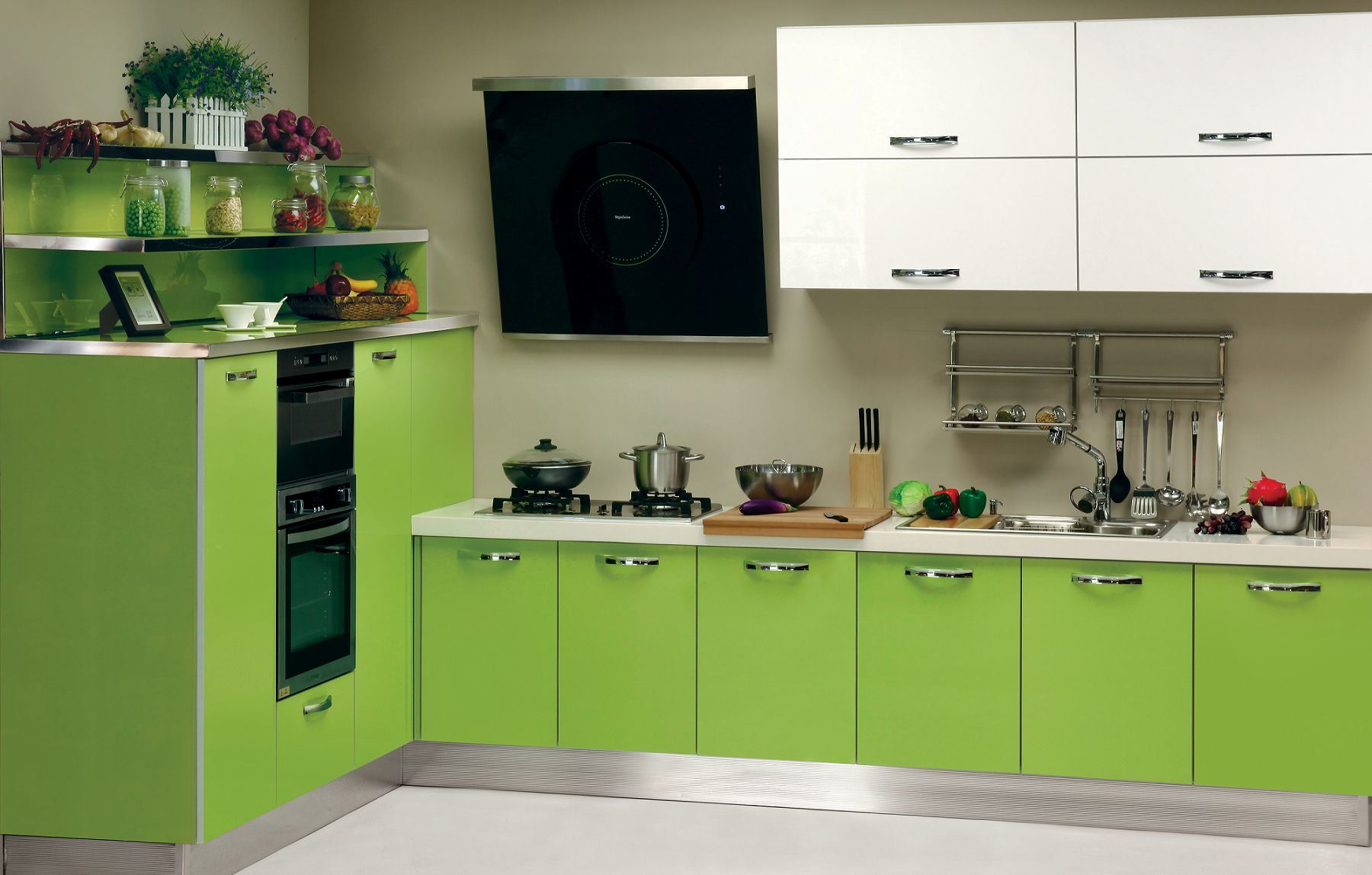 Impressive Green Kitchen Cabinets Design 1800 x 1148 · 190 kB · jpeg