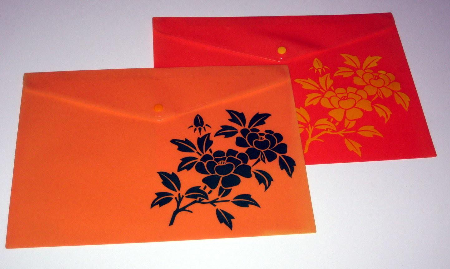 Fc Size Colored PP File Bag (NO. PPB-013)