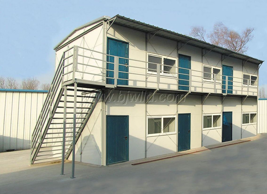 China Two Storey Modular Movable Prefabricated Prefab