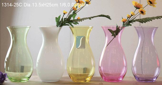 Glass Vase (1314)
