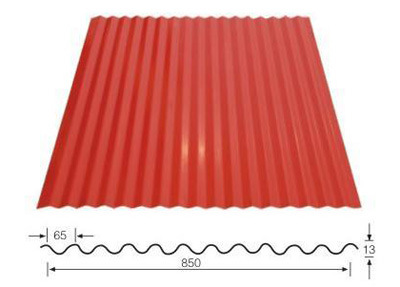Corrugated PPGI for Building Material