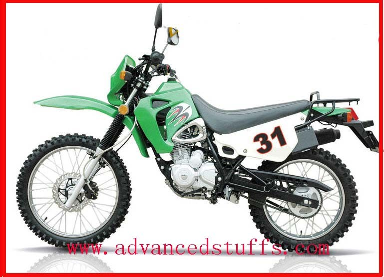 Dirt Bike - Kawasaki Style Bike with Cg200 Engine