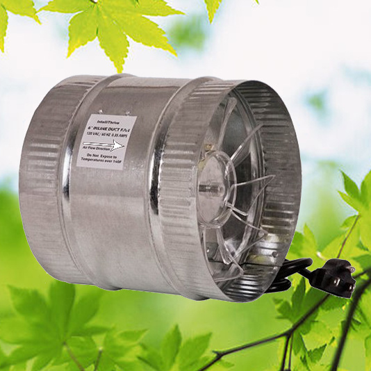Hot Air Duct Fans : China v hydroponics axial flow inline duct