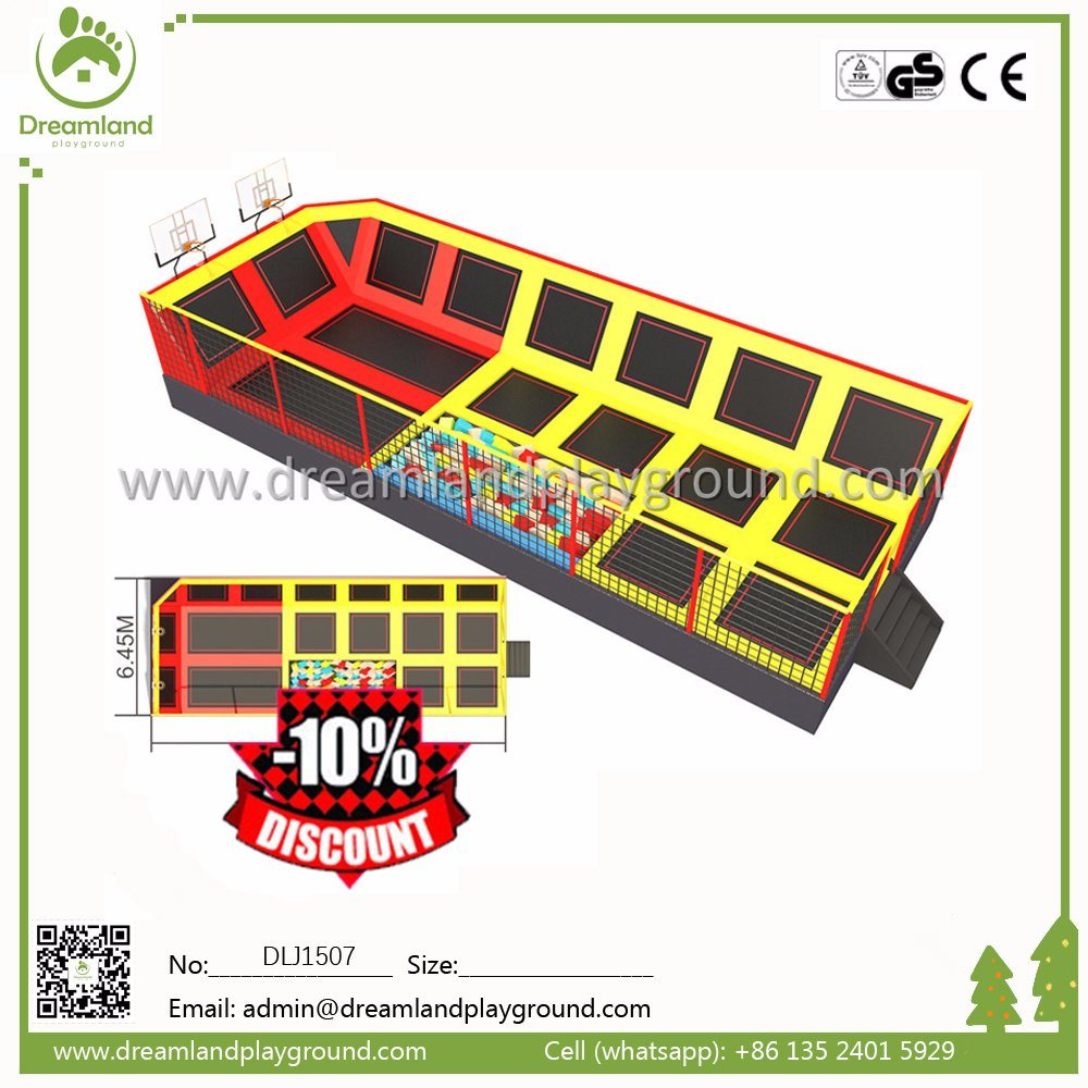 Wholesale Competition Outdoor Gymnastic Trampoline Park for Adults