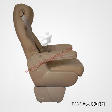 Safety Passenger Business Bus Auto Seatsingle Luxurious Seats (F22-3)