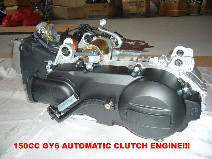 """الدراجات النارية الصينية (Scooter) """"مزايا وعيوب"""" 150CC-Full-Automatic-GY6-Engine-WV-EP009-"""