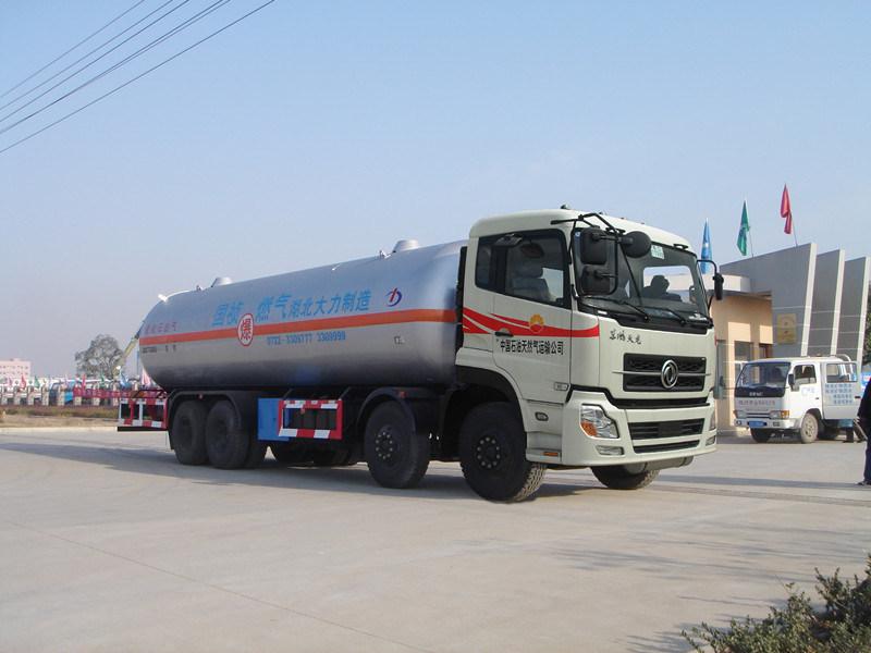 Carro de Dongfeng Tianlong 1311 8*4 LPG – Carro de Dongfeng ...