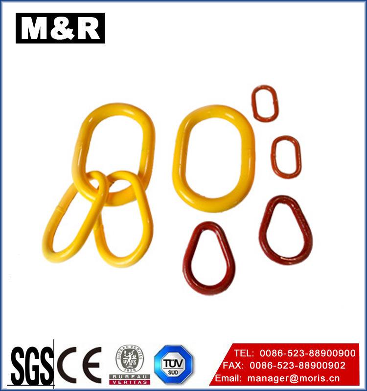 Alloy Steel Round Flat Master Link