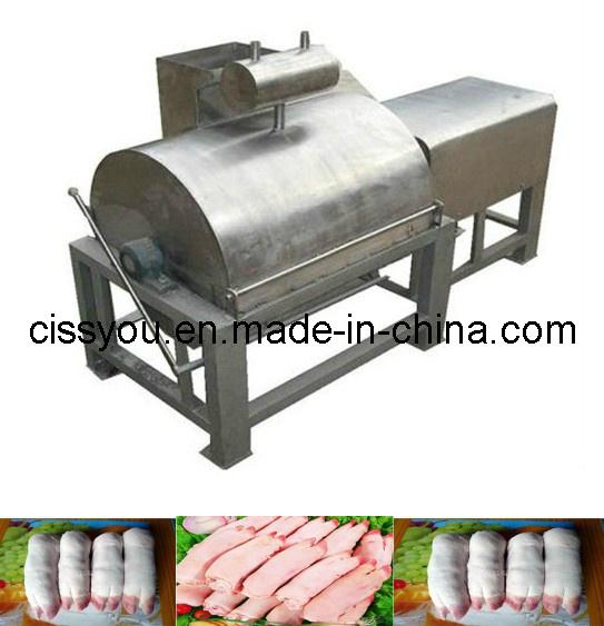 Animal Pig Slaughtering Abattoir Feet Trotter Dehairing Machine Equipment