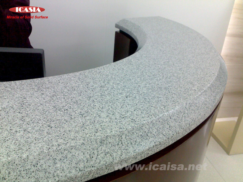 Corian Solid Surface Material for Countertop (ICT1003) - China Corian ...