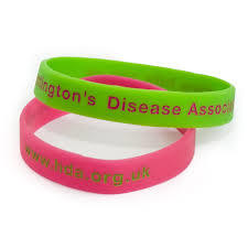 Custom Debossed Logo Silicone Bracelet for Promotion