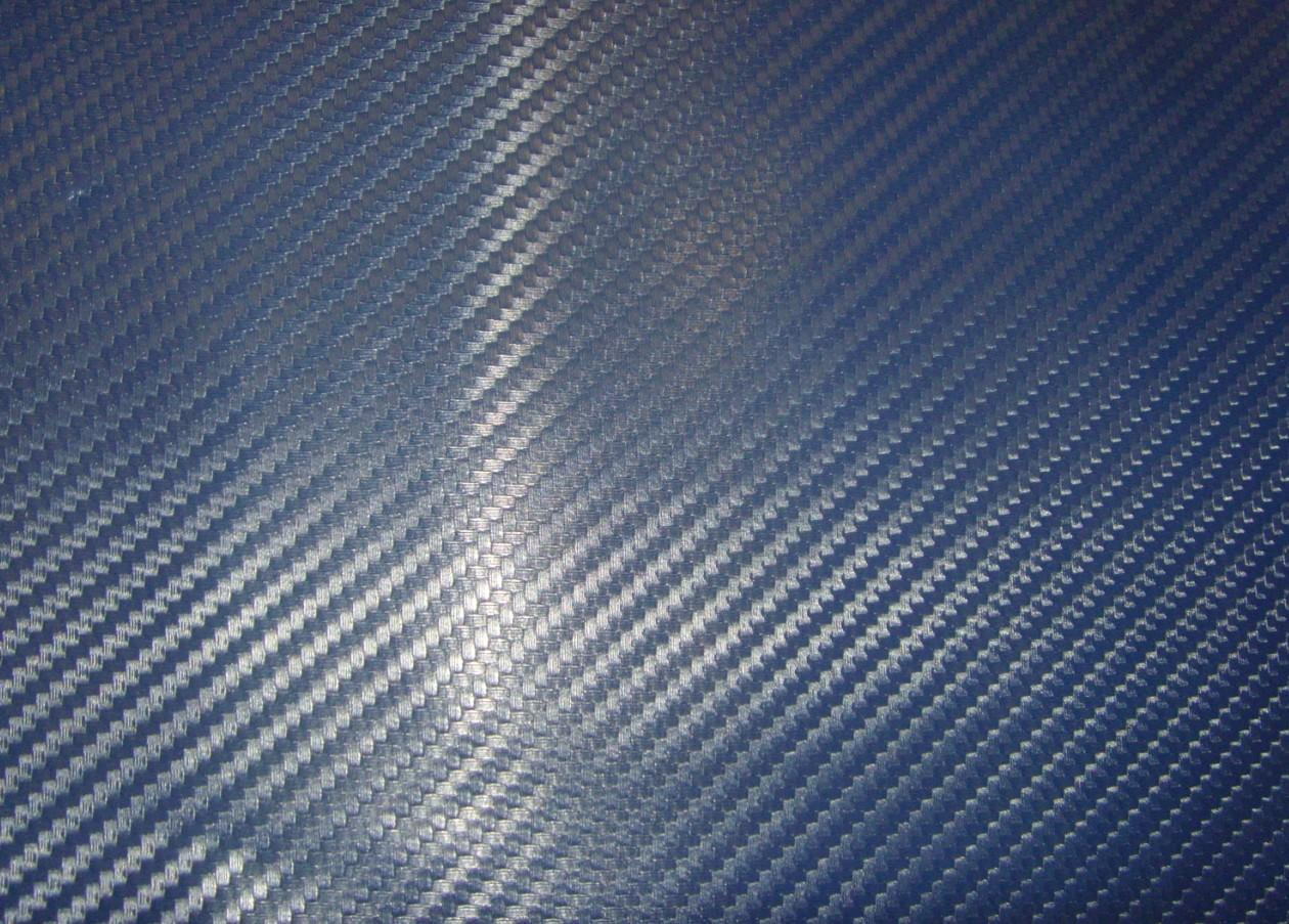 China Blue Color 3d Carbon Fiber Vinyly China Carbon