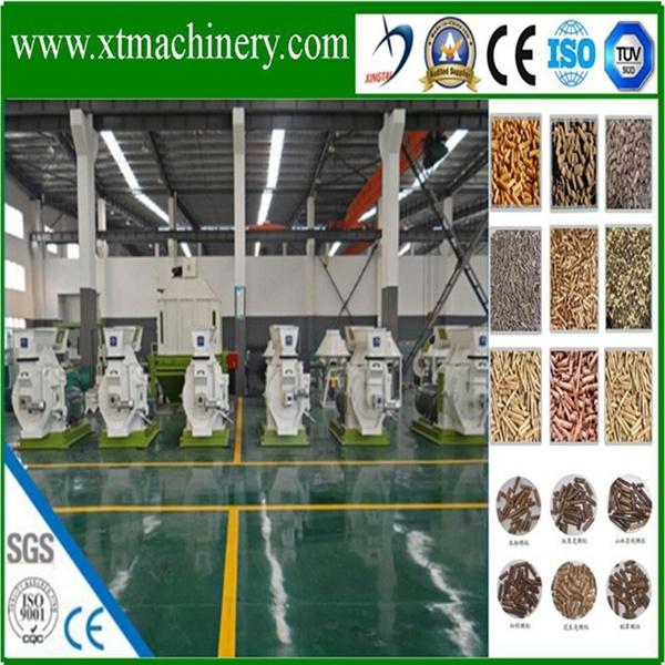 Wearable Steel Material, SKF Bearing, Best Price Wood Sawdust Pellet Mill