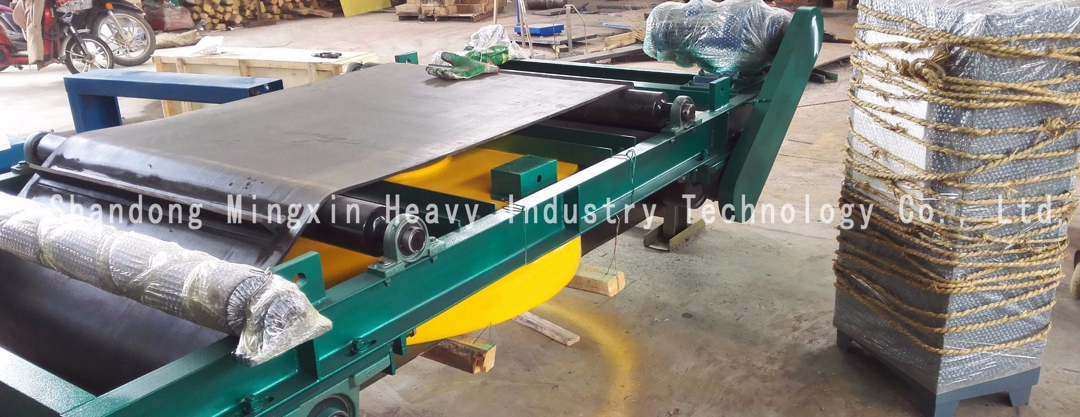 Rcyd (C) - Self Discharging Permanent Magnetic Separator of Mining Machine