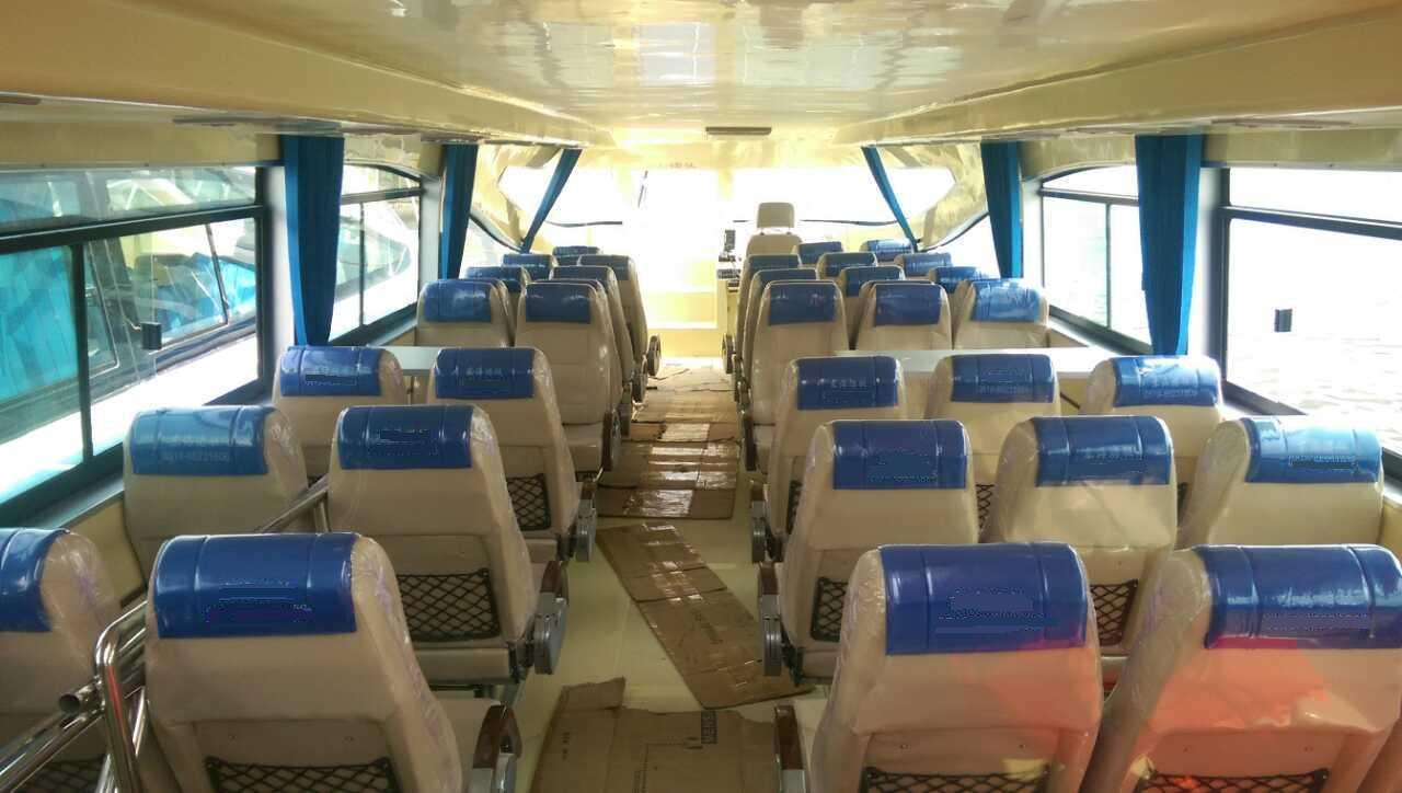 38-50seats FRP Speed Passenger Boat with Inboard Diesel Engine