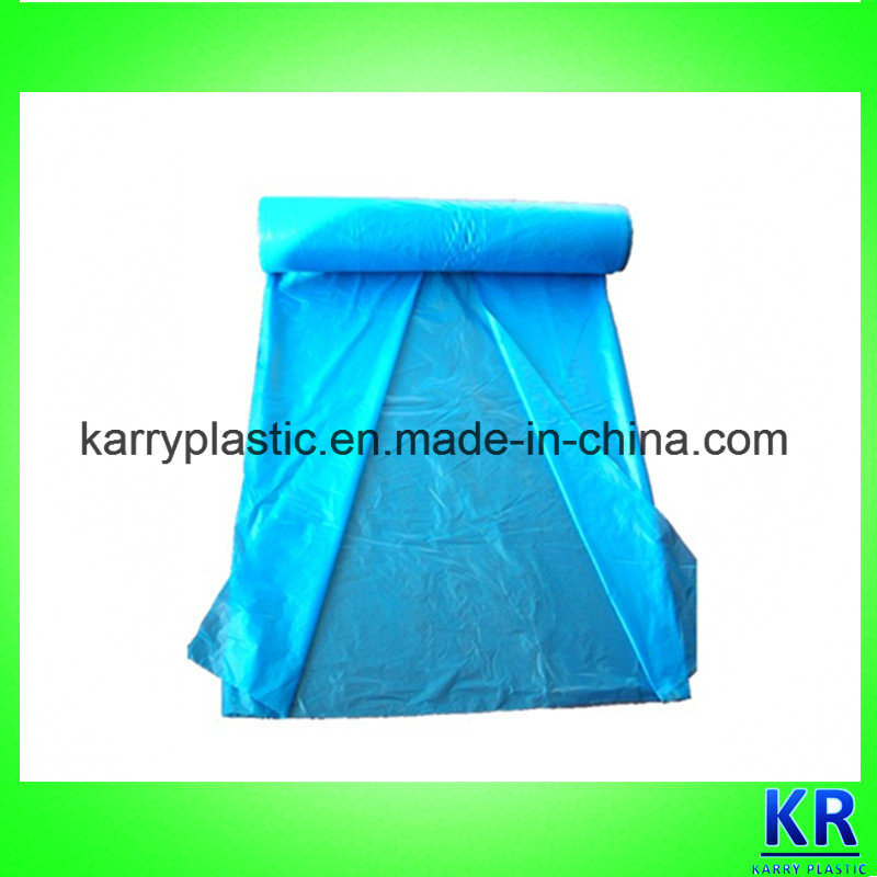 HDPE Biodegradable Trash Bags C-Folded Garbage Bags