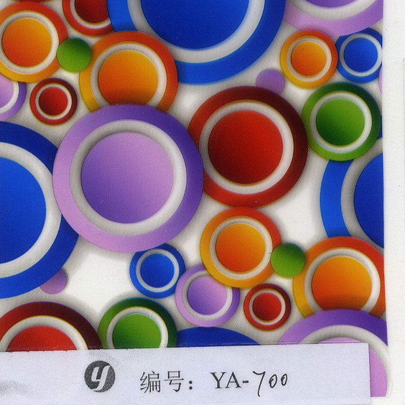 Yingcai Bleeding Hydrographics Water Transfer Printing Film