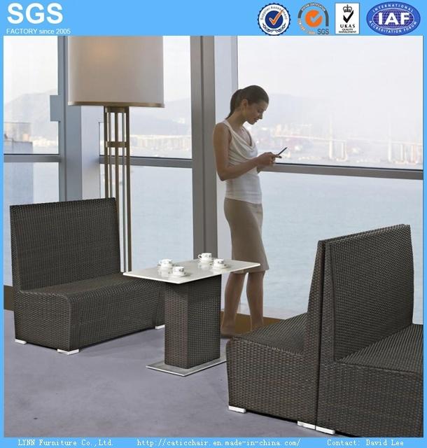Leisure Restaurant Furniture Wicker/Rattan Dining Set
