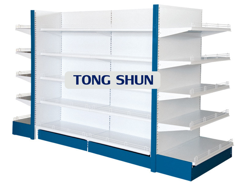 Hot Sales Supermarket Shelf with Layer Fence/Gondola Shelving