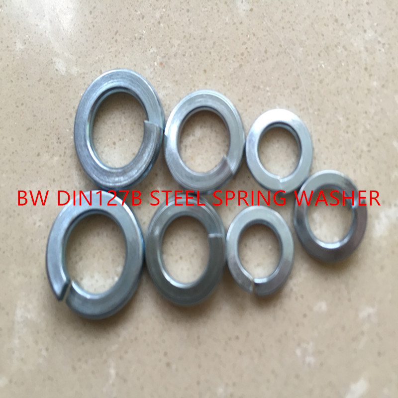 DIN127B Steel Spring Washer