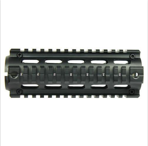 "Customed Carbine Length 6.7"" Handguard Picatinny Quad Rail"