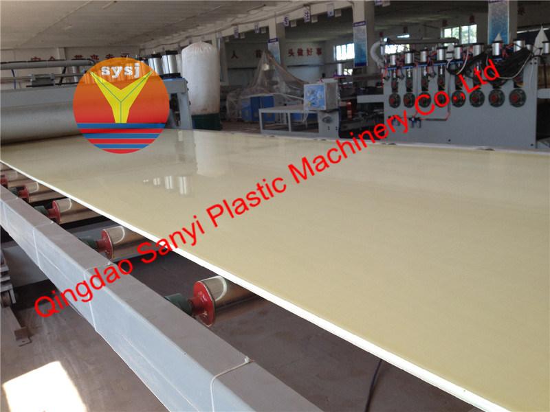 Plastic Machine-PVC Foam Board Extrusion Machine (80/156)