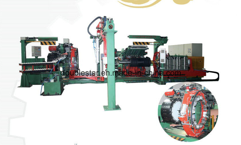 2-Drum Single Stage Radial Tyre Building Machine (LCZ-3C)