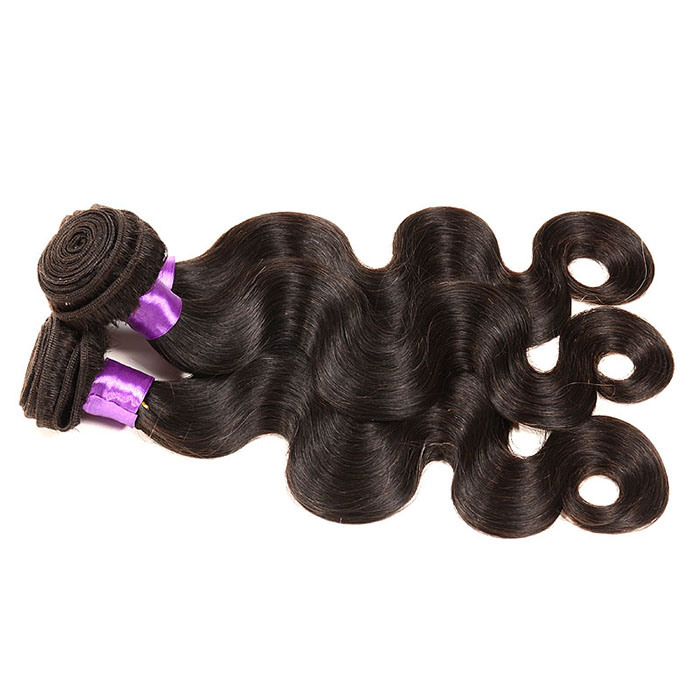 4bundles Brazilian Virgin Hair Body Wave Ali Queen 8A Grade Virgin Unprocessed Human Hair Wet and Wavy Virgin Brazilian Hair