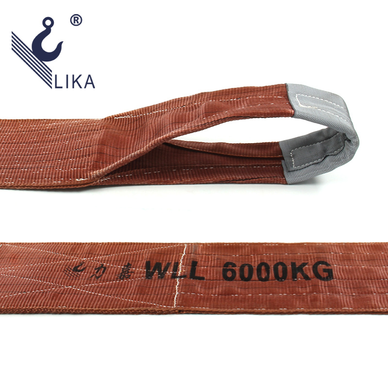 6t 100% Polyester Lifting Sling