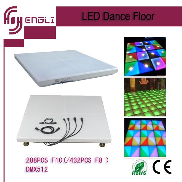 Professional Dancing Disco DJ Wedding Party LED Dance Floor (HL-026AB)